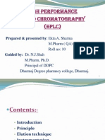 HPLC by Ekta