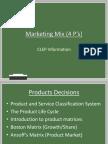 Marketing Mix (4 P's)