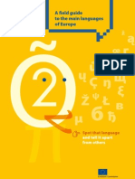 A field guide to the main languages of Europe (European Commission)