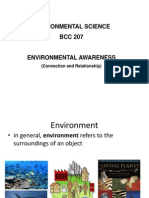 Environmental Awareness & Global Warming