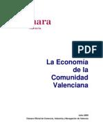 La Economia de La CV 2009