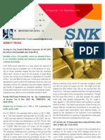 SNK Newsletter- September 2011