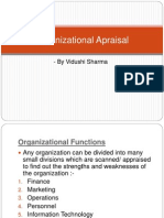 Organizational Appraisal
