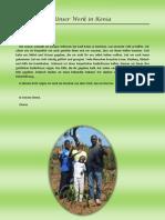Unser Werk in Kenia