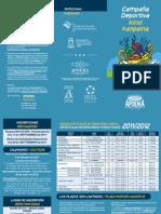 Campaña deportiva APDEMA -VITORIA  2011-12