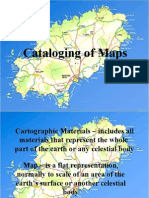 Cataloging Maps