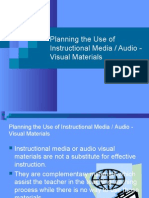 Planning the Use of Instructional Media