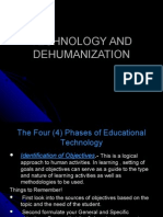 Technology and Dehumanization