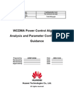 WCDMA RNO Power Control Algorithm Analysis and Parameter Configuration Guidance-20050316-A-1.0