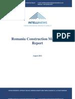 Intellinews - Romania Construction Materials Report