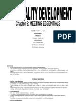 PerDev Group Meeting Essentials