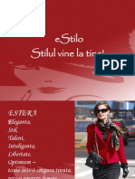 prezentarea eStilo toamna 2011