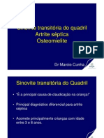 Sinovite Transitória, Artrite Séptica, Osteomielite