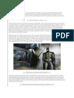 Batman Arkham Asylum Walk Through
