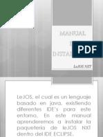 Manual de Instalacion LeJOS NXT