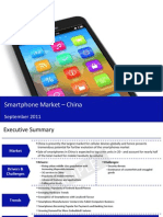 Market Research Report :Smart Phone Market in China 2011