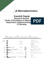 History Microelectronics