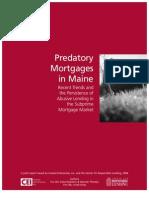 Rr009 Predatory Lending Maine 0206