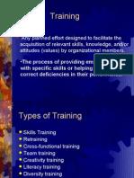 Training MD E