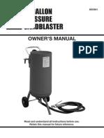 Sandblaster Manual