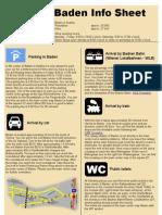 Baden Info Sheet
