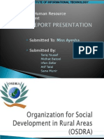 HR Manual of OSDRA