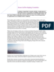 Environmental Issues in Developing Countries
