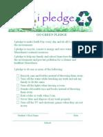 Go GreenPledge