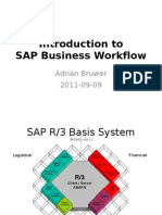 Introduction to SAP Business Workflow