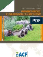 ACF 2008 Programmes Agricoles