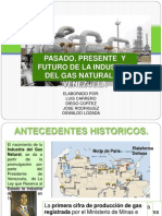Historia de la Industria del Gas Natural en Venezuela
