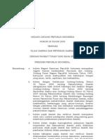 UU 2009 28 Pajak & Retribusi Daerah