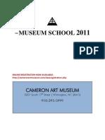Museum School Fall 2011 Course Descriptions