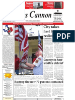 Gonzales Cannon Sept. 15, 2011 Issue