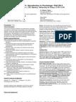UT Dallas Syllabus for psy2301.001.11f taught by James Bartlett (jbartlet, sch052000)