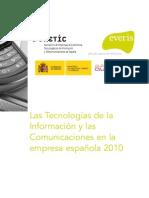 Las Tic Empresa Esp2010