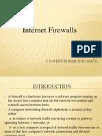Internet Firewalls