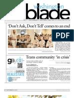 washingtonblade.com - volume 42, issue 37 - september 16, 2011