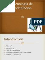 Tecnología de Encriptación