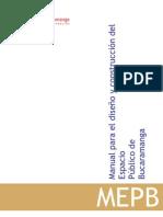 Manual Espacio Publico Bucaramanga