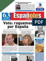 Revista Españoles Nº63 Agosto 2011