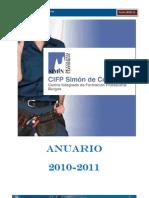 Anuario CIFP Simon Colonia Curso 2010-2011