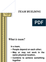 Team Building Ppt