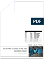 Steampunk Haunted House - Design Drawings - Confessional