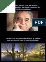 Lettre Pour Amis g.g. Marquez