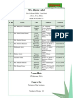 Business Plan -Body