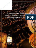 Condition Et Comportement Du Talib Al 3ilm