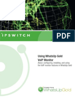 Using VoIP Monitor for WhatsUp Gold v12