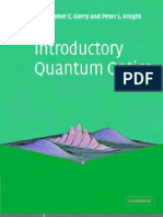 Gerry C., Knight P. Introductory Quantum Optics (CUP, 2005)(ISBN 0521820359)(333s)_PEo