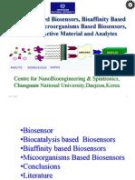 Week 2 Bioisensors 21Sep2009 Bio Catalysis